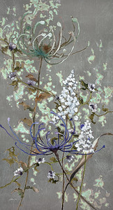"Patina Gardens by Lun Tse, 62""x32"" painting on loose canvas (18-9-11)"