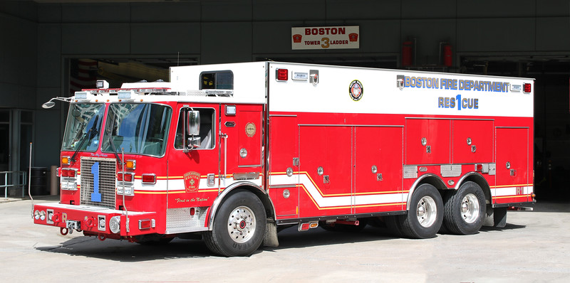 Rescue 1.  2015 KME Heavy Rescue