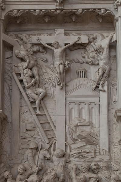 Chaource, Eglise Saint-Jean-Baptiste - The Crucifxion