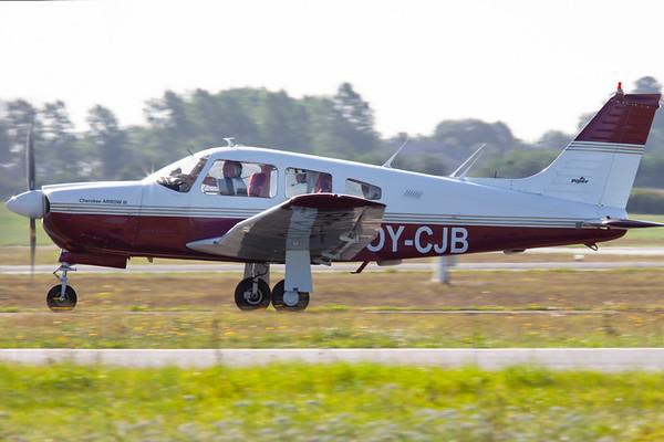 OY-CJB - Piper PA-28R-201 Arrow III