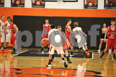 WHS Boys Basketball vs  Jeeps 2-12-14