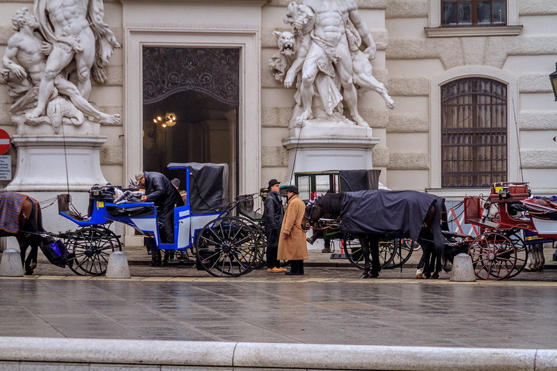 Horse-drawn carriages