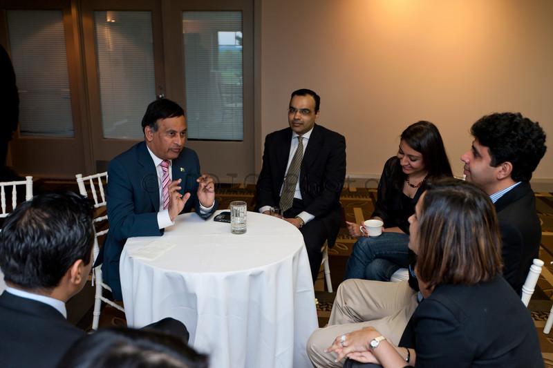 Ambassador Haqqani frank and candid conversations with the participants