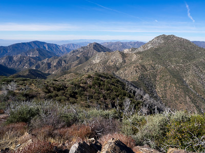 Mount Lawlor and Barley Flat - San Gabriel Mountains  11-26.2017