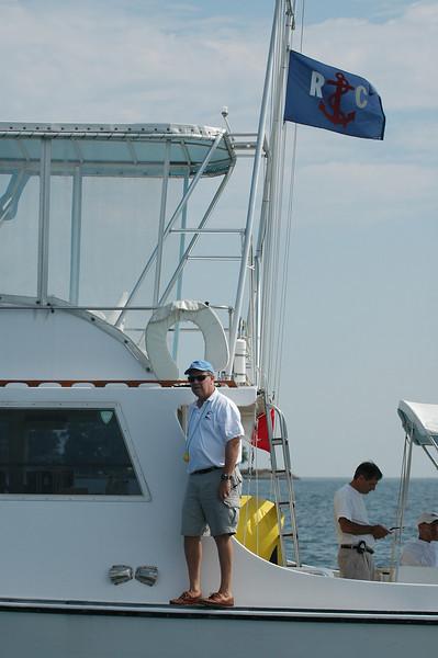 Rick Klein aboard Mr. Roberts