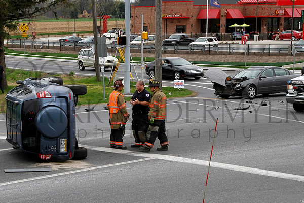 04.19.15 Crash at Rt. 462 & Prospect Rd. in West Hempfield Twp.