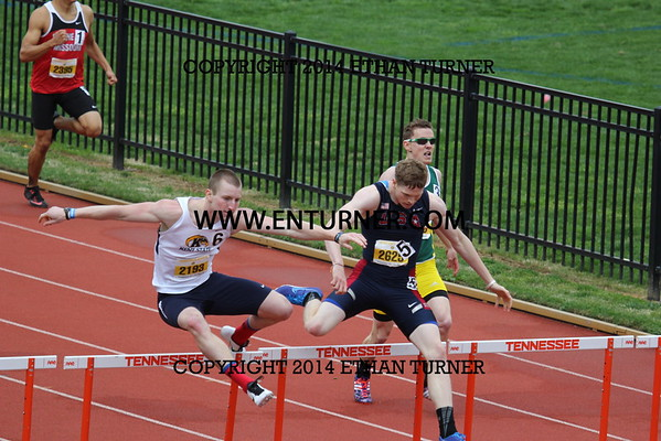 2015 Tennessee Relays - 400m Hurdles and 400m