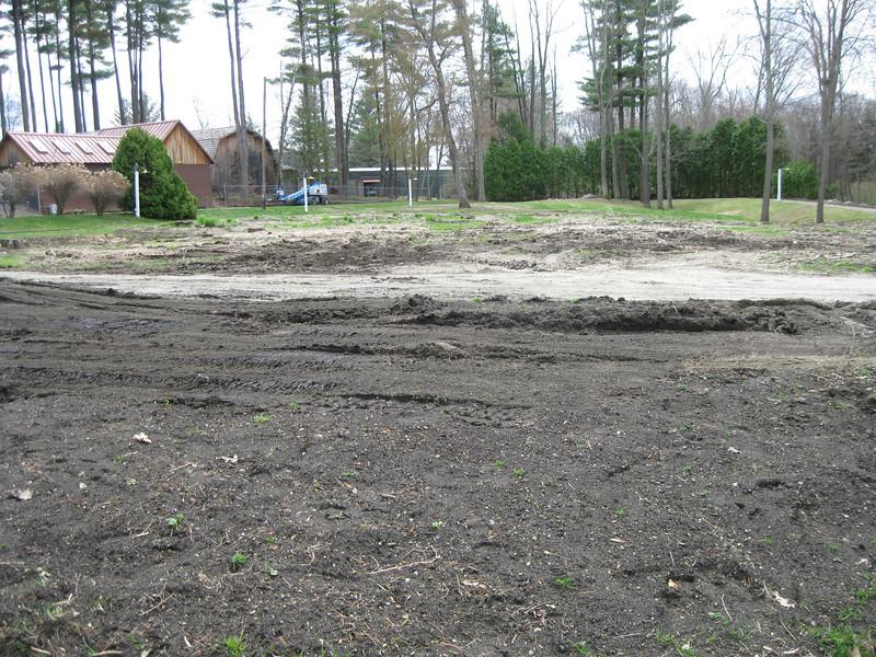 Last year's corn maze area.