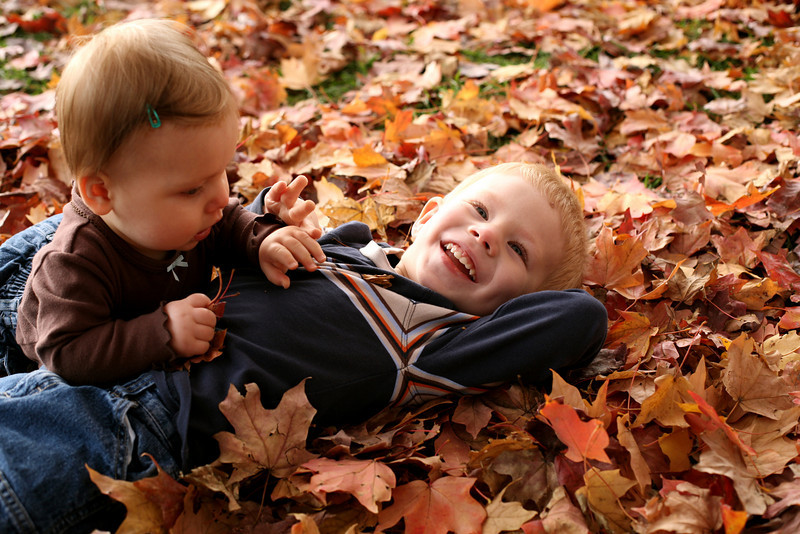 How sweet is this!! She loved the leaves.