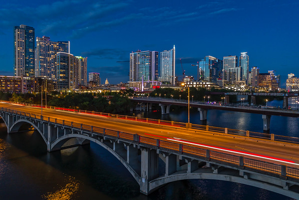 Austin, Texas Skyline Photographs for Sale as Fine Art