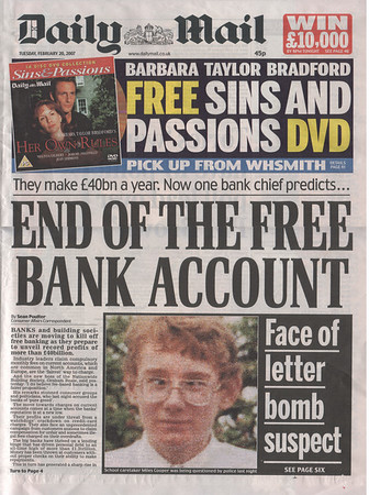 DAILY MAIL FEB 2007