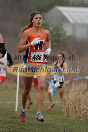 2 Mile, Women's Race - 2013 NCAA III XC Great Lakes Regional