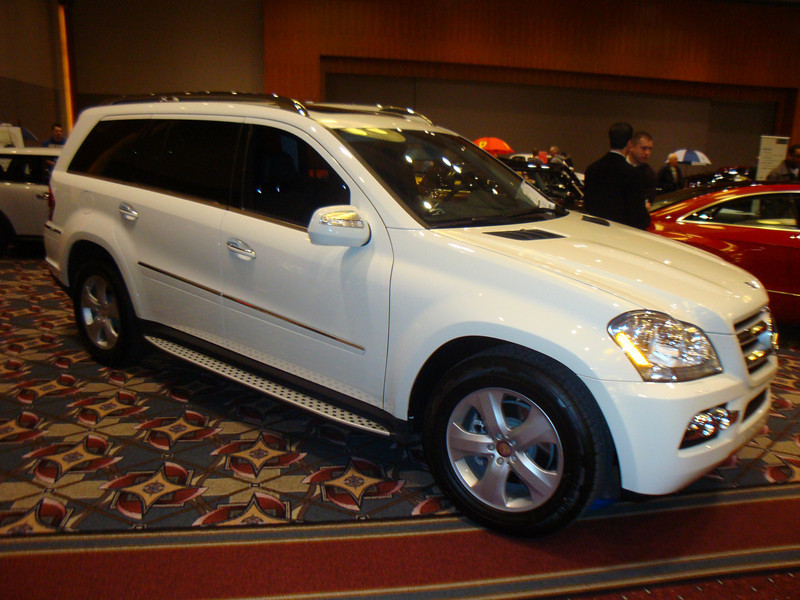 Didn't get the model but this was one of Mercedes' biggest SUVs.