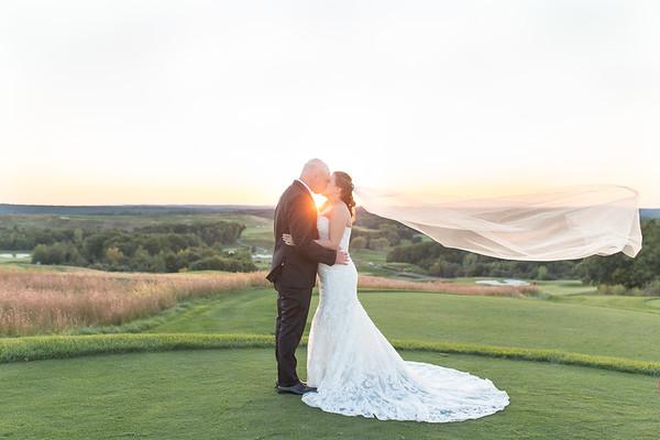 DeAnna & Nolan's Intimate Granite Links Wedding