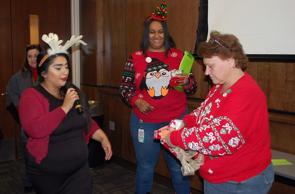 Prairie State College Support Staff Holiday Luncheon 2018