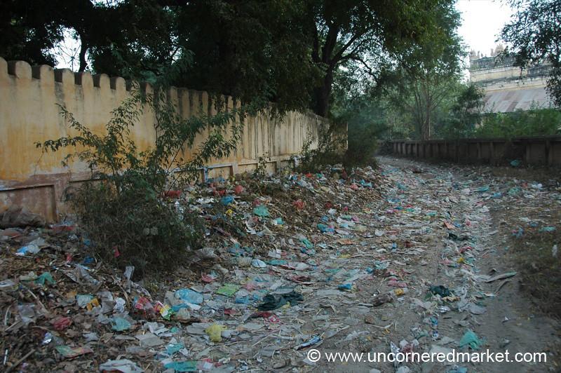 Path of Trash - Bagan, Burma