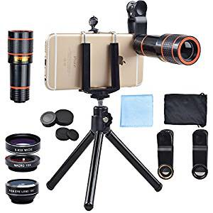 Apexel 4 in 1 Iphone Camera Accessories