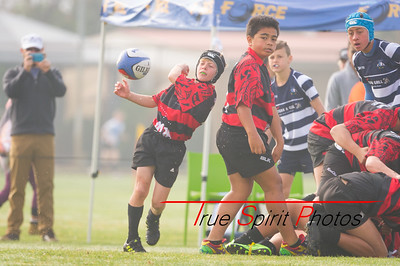 RugbyWA Under 12 Gold Kalamunda vs Joondalup Gold 09.09.2017