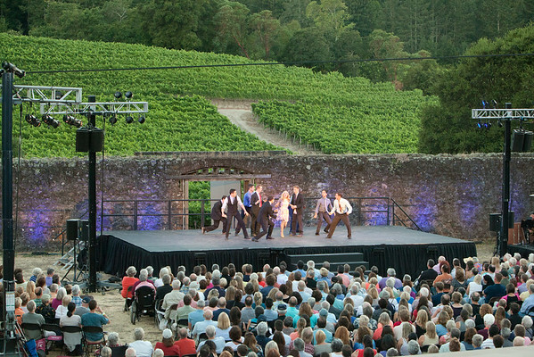 Transcendence Theatre Company   --   Broadway Under The Stars in Jack London State Park   --   Sonoma County, California