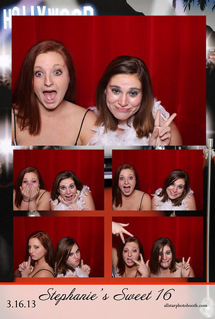 Stephanie's Sweet 16 | Photo Booth