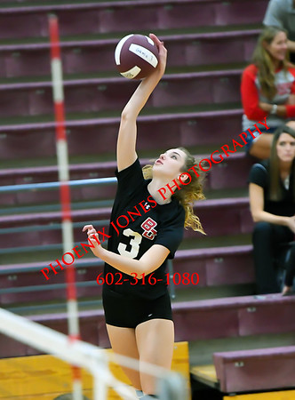 10-11-17 - Boulder Creek @ Mountain Ridge - Volleyball Match