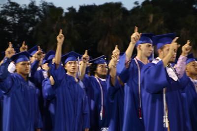 2019 Natalia High School graduation