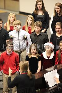 DMS Christmas Band chorus Concert