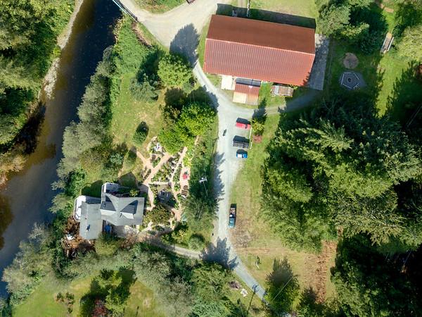 Aerial Garden Shots