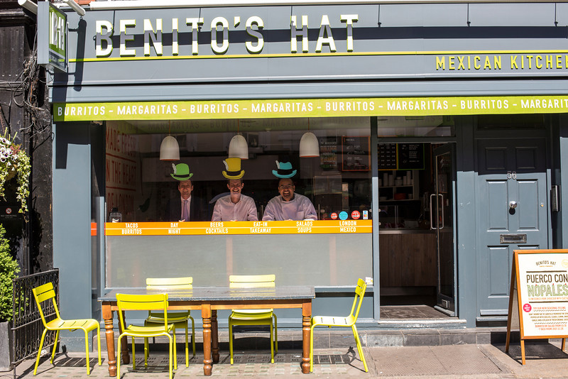 Benitos Hat - for The Times