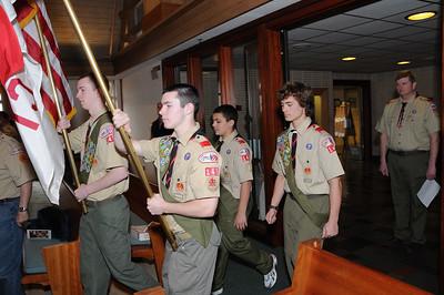 Eagle Scout Ceremony, Troop 149, Windsor, CT