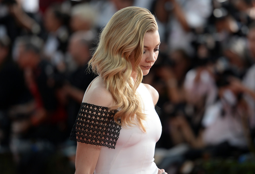 . Natalie Dormer  on the red carpet at the 20th Annual Screen Actors Guild Awards  at the Shrine Auditorium in Los Angeles, California on Saturday January 18, 2014 (Photo by Hans Gutknecht / Los Angeles Daily News)