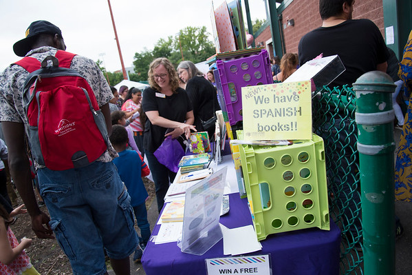 08/23/19 Wesley Bunnell | Staff The CSDNB held their annual Back to School bash at New Britain Stadium on Friday evening where students and parents can meet their school administrators as well as school supply giveaways and information on the upcoming school year.