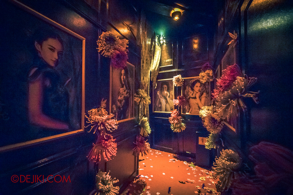 Halloween Horror Nights 6 - Hu Li's Inn / Hallway to Boudoirs