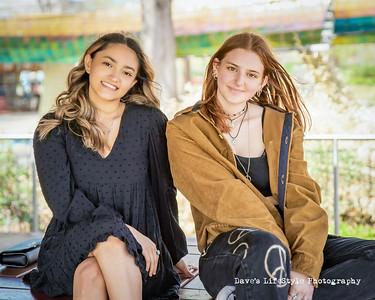 Lauren and Tanya