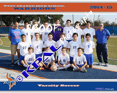 West Orange Boy's Soccer Team