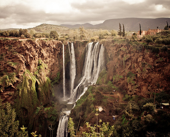 Ouzoud Waterfalls 2013