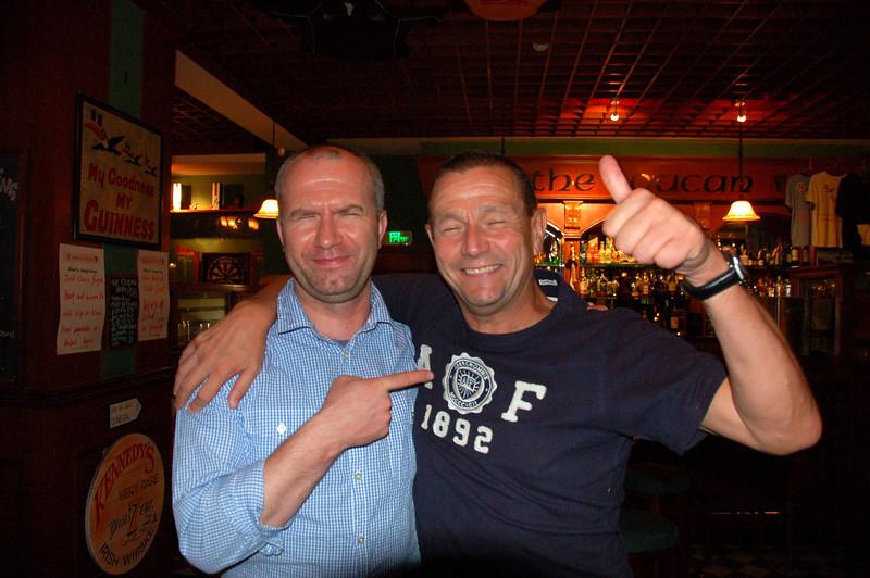 Two buddies Jarek and Ian