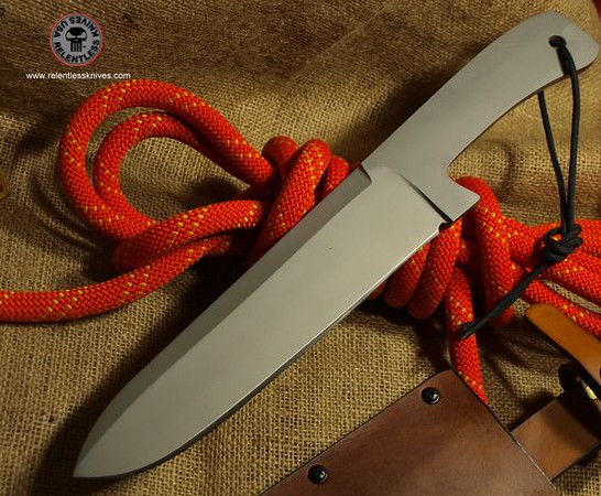 Relentless Knives Custom Camp Kitchen knife