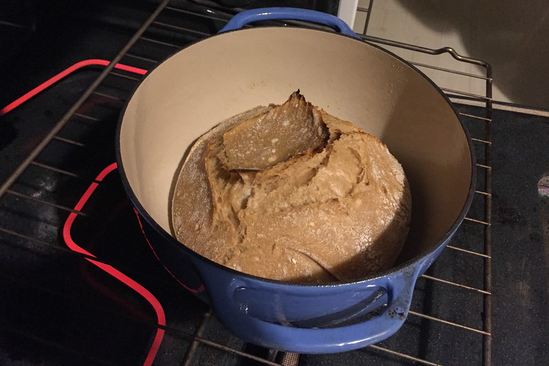 Making Sourdough Bread in a Dutch Oven