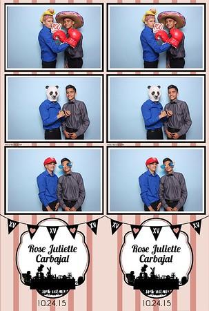 Rose's XV | Oct. 24th 2015
