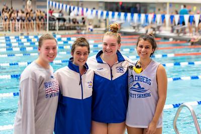 Girls Varsity Swimming –2019