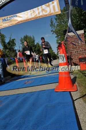 Half Marathon Finish Line - 2012 Romeo to Richmond Race