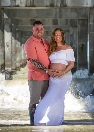 Alicia & Jerry's Belly Portraits