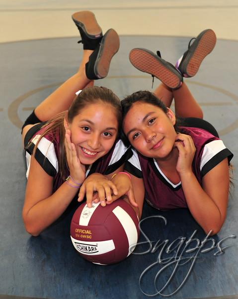 SMMS Girls JV Volleyball 2015