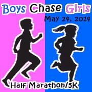 OHE Boys Chase Girls Half