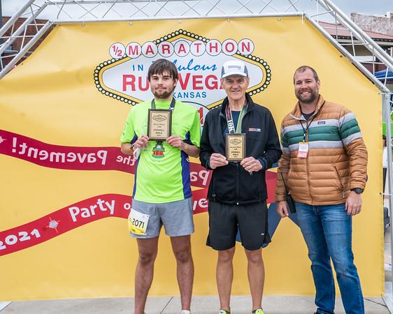2021 Russvegas Half Marathon Award Presentation