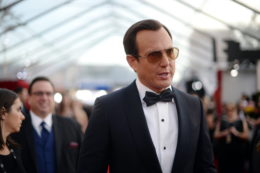 . Will Arnett on the red carpet at the 20th Annual Screen Actors Guild Awards  at the Shrine Auditorium in Los Angeles, California on Saturday January 18, 2014 (Photo by Hans Gutknecht / Los Angeles Daily News)