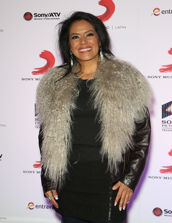 . Singer Lila Downs attends Sony Music\'s Latin Grammy after party at XS The Nightclub at Encore Las Vegas on November 20, 2014 in Las Vegas, Nevada.  (Photo by Gabe Ginsberg/Getty Images for Selig Multimedia / Sony Music Latin)