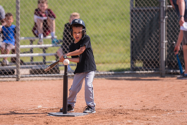 Miles and friends T-Ball 2018