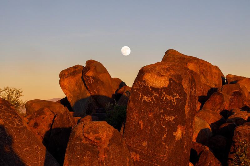 The Petroglyphs at Signal Hill